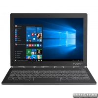 Планшет Lenovo Yoga Book C930 4/256GB LTE Windows 10 Home Iron Gray (ZA3T0058UA)