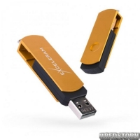 USB флеш накопитель 16Gb Exceleram P2 Series (EXP2U2GOB16) Gold/Black