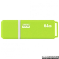 USB флеш накопитель 64GB GoodRam UMO2 (UMO2-0640OGR11) Green