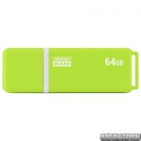 USB флеш накопитель 64GB GoodRam UMO2 (UMO2-0640OGR11) Green
