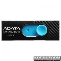 USB флеш накопитель ADATA 16GB UV320 Black/Blue USB 3.1 (AUV320-16G-RBKBL)