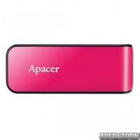 USB флеш накопитель 16Gb Apacer AH334 (AP16GAH334P-1) Pink