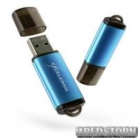 USB флеш накопитель eXceleram 128GB A3 Series Blue USB 3.1 Gen 1 (EXA3U3BL128)