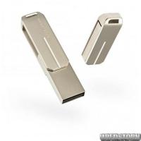 USB флеш накопитель 16Gb Exceleram U3 Series (EXP2U3U3S16) Silver