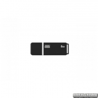 Флеш-накопитель USB 8GB GOODRAM UMO2 Graphite (UMO2-0080E0R11)