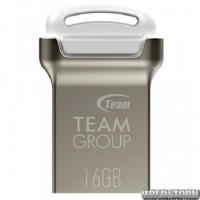 USB флеш накопитель 16Gb Team C161 (TC16116GW01) White