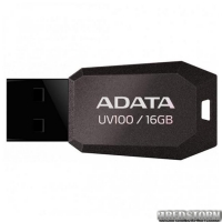 USB флеш накопитель 16Gb A-Data UV100 (AUV100-16G-RBK) Black