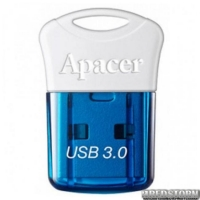 USB флеш накопитель 64Gb Apacer AH157 (AP64GAH157U-1) Blue