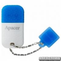 Флеш накопитель Apacer 32GB AH154 White/Blue (AP32GAH154U-1)