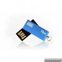 USB флеш накопитель 16Gb GoodRam UCU2 (UCU2-0160B0R11) Blue