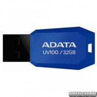USB флеш накопитель 32Gb A-Data UV100 (AUV100-32G-RBL) Blue