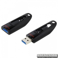 Флеш накопитель Sandisk 16GB Ultra Black (SDCZ48-016G-U46)