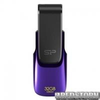 USB флеш накопитель Silicon Power 32Gb Blaze B31 Purple USB 3.0 (SP032GBUF3B31V1U)