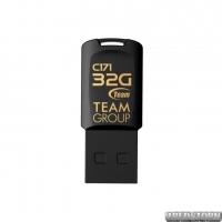 Флеш-накопитель USB 32GB Team C171 Black (TC17132GB01)