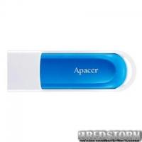 USB флеш накопитель Apacer 64GB AH23A White USB 2.0 (AP64GAH23AW-1)