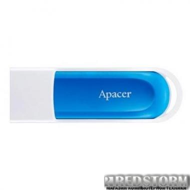 USB флеш накопитель Apacer 16GB AH23A White USB 2.0 (AP16GAH23AW-1)