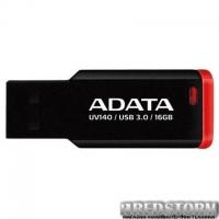 USB флеш накопитель A-DATA 16GB UV140 Black+Red USB 3.0 (AUV140-16G-RKD)