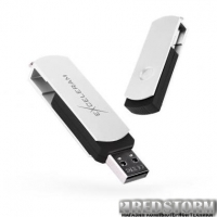 USB флеш накопитель eXceleram 64GB P2 Series White/Black USB 2.0 (EXP2U2WH2B64)