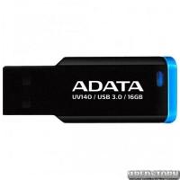 USB флеш накопитель 16Gb A-Data UV140 (AUV140-16G-RBE) Black/Blue