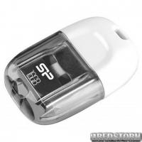Флеш накопитель SILICON POWER 16GB Touch T09 White (SP016GBUF2T09V1W)
