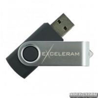 USB флеш накопитель 8Gb Exceleram P1 Series (EXP1U2SIB08) Silver/Black