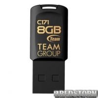 USB флеш накопитель Team 8GB C171 Black USB 2.0 (TC1718GB01)