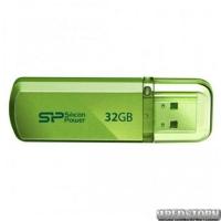USB флеш накопитель 32Gb Silicon Power Helios 101 (SP032GBUF2101V1N) Green