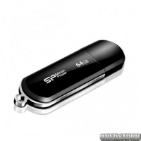 USB флеш накопитель 64Gb Silicon Power LuxMini 322 (SP064GBUF2322V1K) Black