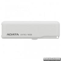 USB флеш накопитель 16Gb A-Data UV110 (AUV110-16G-RWH) White