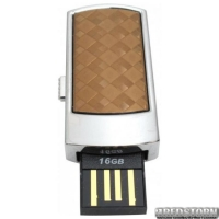 USB флеш накопитель 16Gb Transcend JetFlash V95C (TS16GJFV95C) Silver