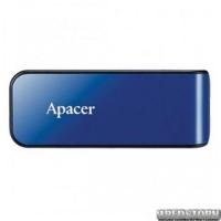 USB флеш накопитель 64Gb Apacer AH334 (AP64GAH334U-1) Blue