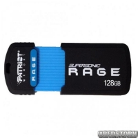 USB флеш накопитель 128Gb Patriot Supersonic Rage (PEF128GSRUSB) Black/Blue