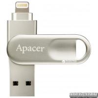 Apacer AH790 32GB Lightning Dual USB 3.1 Silver (AP32GAH790S-1)