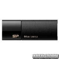 USB флеш накопитель Silicon Power 64Gb BLAZE B05 Black USB3.0 (SP064GBUF3B05V1K)