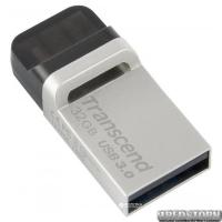 Transcend JetFlash 880 32GB USB 3.0/micro USB Silver-Black (TS32GJF880S)