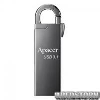 USB флеш накопитель Apacer 64GB AH15A Ashy USB 3.1 (AP64GAH15AA-1)