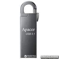 Apacer AH15A 16GB USB 3.1 Ashy (AP16GAH15AA-1)