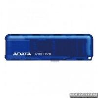 USB флеш накопитель 16Gb A-Data UV110 (AUV110-16G-RBL) Blue