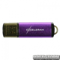 USB флеш накопитель eXceleram 16GB A5M MLC Series Purple USB 3.1 Gen 1 (EXA5MU3PU16)