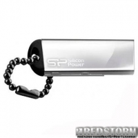 USB флеш накопитель Silicon Power 32GB Touch 830 Silver USB 2.0 (SP032GBUF2830V3S)