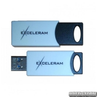 USB флеш накопитель 64Gb Exceleram H2 Series (EXU2H2W64) White/Black