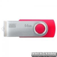 USB флеш накопитель GOODRAM 64GB UTS3 Twister Red USB 3.0 (UTS3-0640R0R11)