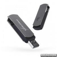 USB флеш накопитель 16Gb Exceleram P2 Series (EXP2U2GB16) Gray/Black