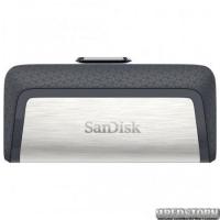 USB Type-C флеш накопитель 128Gb SanDisk Ultra Dual (SDDDC2-128G-G46) Black/Silver