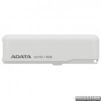 USB флеш накопитель 8Gb A-Data UV110 (AUV110-8G-RWH) White