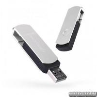 USB флеш накопитель 32Gb Exceleram P2 Series (EXP2U2SIB32) Silver/Black
