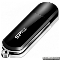 Флеш накопитель SILICON POWER 32GB LuxMini 322 Black (SP032GBUF2322V1K)