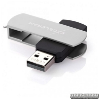 USB флеш накопитель 64Gb Exceleram P2 Series (EXP2U2SIB64) Silver/Black