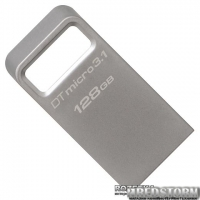 Kingston DT Micro 3.1 128GB Metal Silver USB 3.1 (DTMC3/128GB)