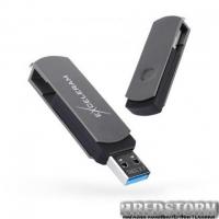 USB флеш накопитель eXceleram 64GB P2 Series Gray/Black USB 3.1 Gen 1 (EXP2U3GB64)